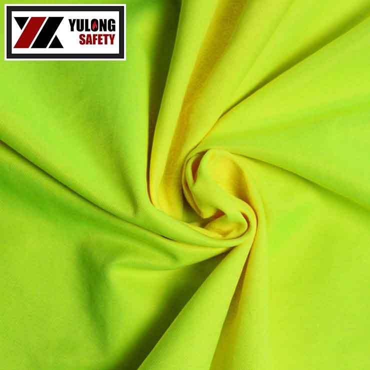 Wholesale EN20471 80 Polyester 20 Cotton Fabric For High Visibility Coveralls