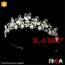 Factory Directly Wedding Tiara Crown butterfly tiara