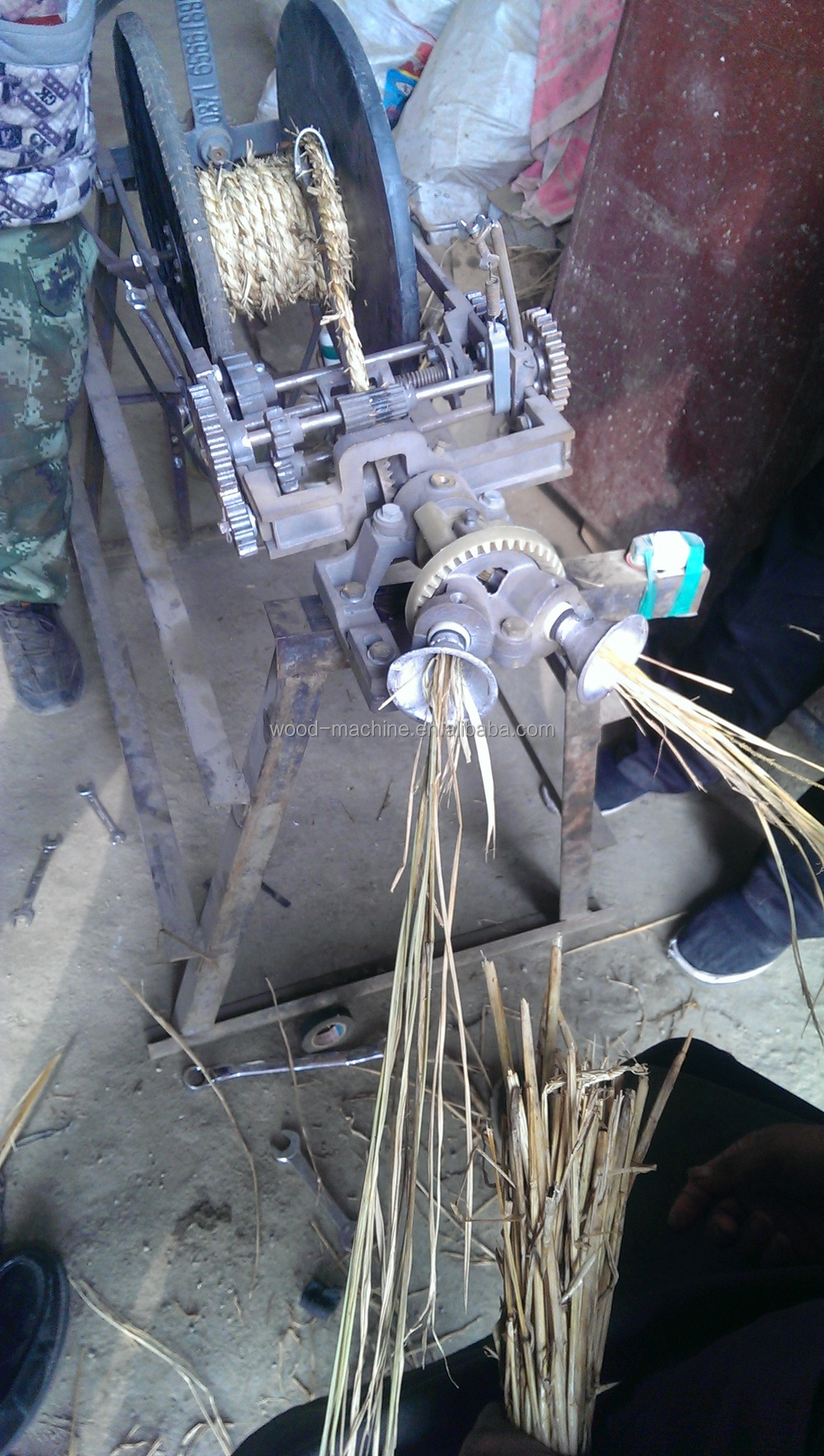 Straw Grass And Hay Rope Weaving Maker On Sale Buy Wheat