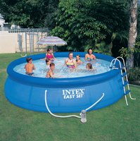 Durable PE inflatable swimming pool,inflatable pool cover,bubble swimming pool cover
