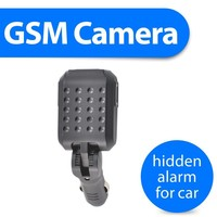 security gsm camera alarm hidden recorder wireless burglar alarm plus anti theft lost remote lock with gprs sim card