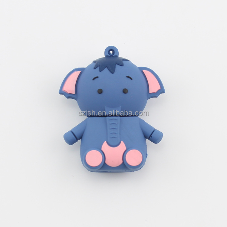 3D New Elephant Shape 2.0 usb flash drive For Promotion Giveway