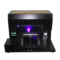 A3 size Led UV printer machine for pu leather printing