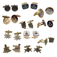 Love souvenirs custom cufflink own masonic cufflinks