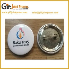Promotional Metal Customized Tinplate Button Badge