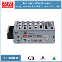 UL CB approved meanwell nes-15-12 15w power supply 12v 1a