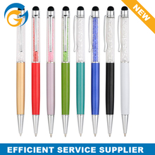 Plastic Crystal Screen Touch Ball Pen for Sale