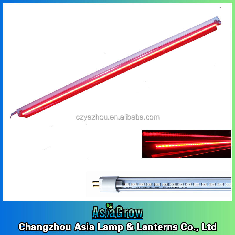 Red LED bulb strip grow light 36W