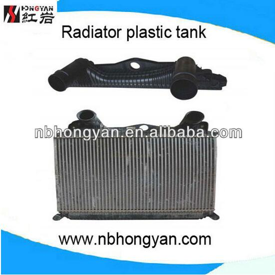 High quality hot sale Heavy Duty Truck Engine Part Radiator Plastic Tank Auto Share Parts