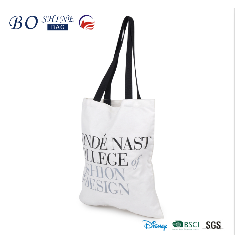 High Quality wholesale Custom Cotton Canvas cheap tote promotion bag