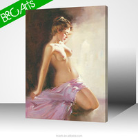 Canvas print hot woman nude photo print