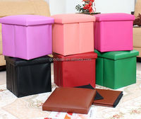 Contemporary Collapsable Cuboid Storage Ottoman