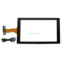 CJTouch 10.1inch projected capacitive touch screen with USB controller
