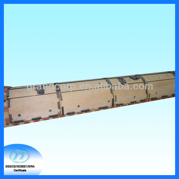 Rotary Die for Cardboard box 1-Layer SBB 4 way recycled corrugated paper pallet