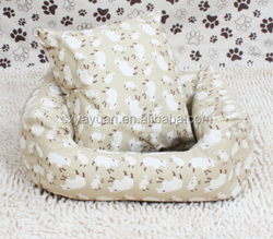 Solid Memory Foam Orthopedic Dog Pet Bed /waterproof Cover (chocolate)