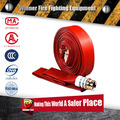 1.5 inch double jacket easy clean color Rubber Fire Hose with Chemical resistant for fire fighting