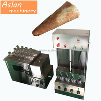 electric pizza cone maker / stainless steel hand-hold pizza cone making production line