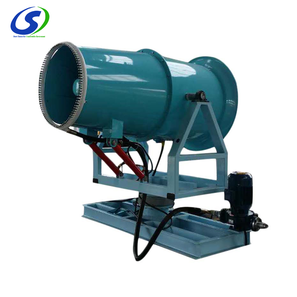 High tower effective emission control dust fighters for mining and quarrying