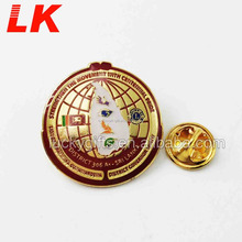 new product china supply custom wing sword metal lapel pins for students