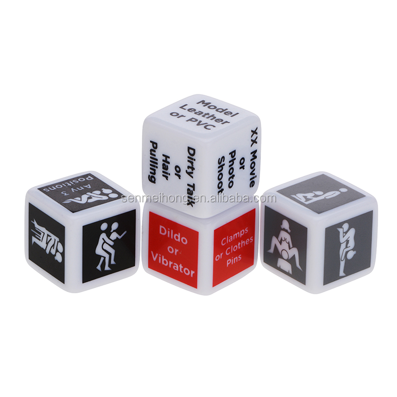 Custom Printed Dice Adult Sex Dice Games