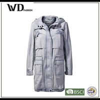 Wholesale parka jackets, winter fishtail parka coat