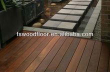 Balcony hardwood decking Merbau