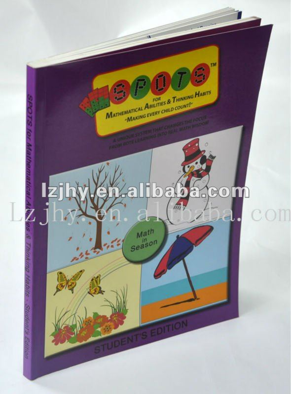 sport soft cover book for children