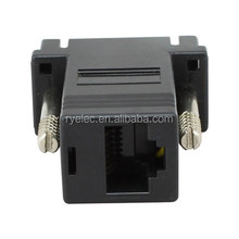 HDB15 VGA 15pin male to RJ45 female adpater custom pin out accepted