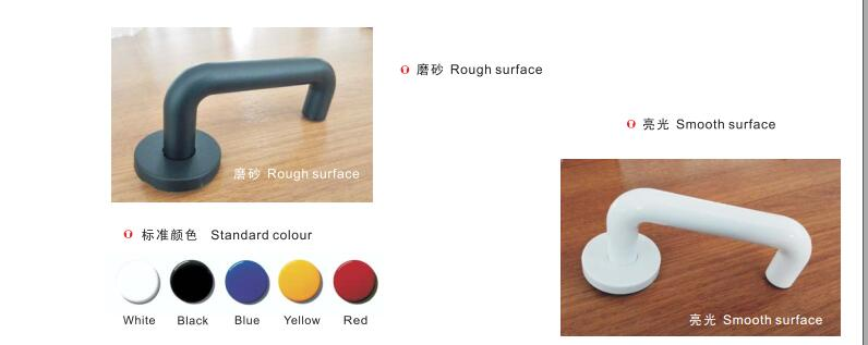 Nylon Lever door handles