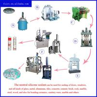 High-quality silicone sealant production equipment