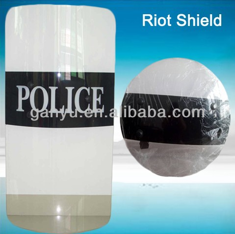 ROTHCO ANTI RIOT SHIELD/CLEAR POLYCARBONATE ANTI-RIOT - BLANK SHIELD