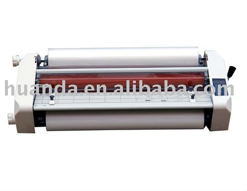 good look high quality YL-FM 650 hot and cold roll laminator machine