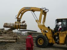 Bulldozer hydraulic wood grab