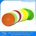 Stone Polishing Discs for hand held grinder with full range of grits