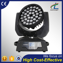 high brightness stage lighting 4-in-1 zoom led moving head wash