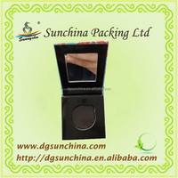 Purely hand made paper cosmetic packing for eye shadow