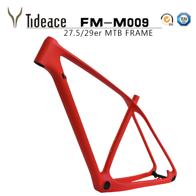 Cheap china mtb frame full carbon 29er mountain bike frame with tideace painting