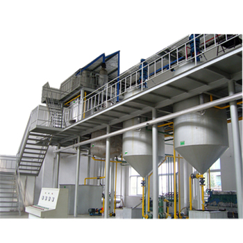 Palm oil refining and palm oil fractionation processing machine