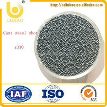 High clearness shot blasting steel shot s330