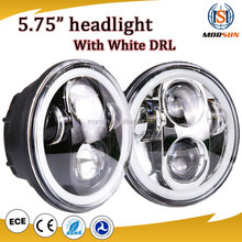"45w headlight led head lamp, 5.75"" halo led headlight for V-Rod Muscle VRSCF Led headlight head lamp"