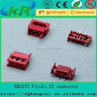 Tyco/AMP 1.27 mm red IDC SMT Connectors Wire harness in China
