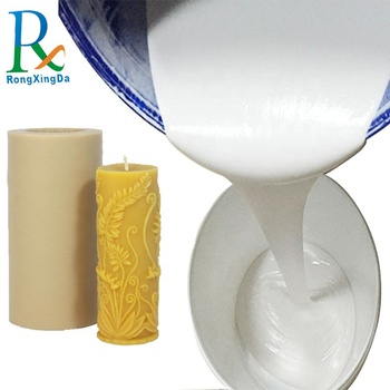Good quality low viscosity candle mold making liquid silicone rubber with good hardness