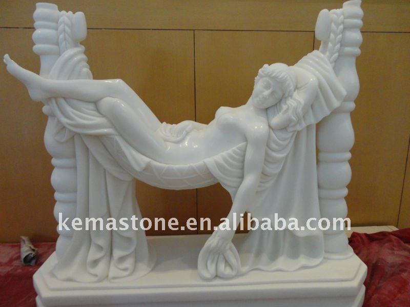 Female women Stone Figure Statues