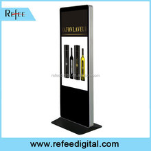 Excellent supplier for 32 42 55 Ipad style with wheels advertising player floor stand advertising display