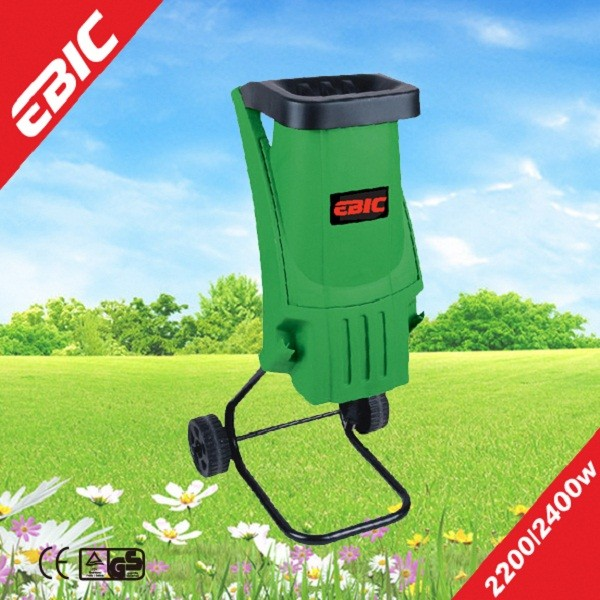 2400W 40MM High Quality Electric Manual Garden Shredder