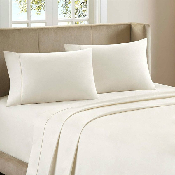 Elegant fitted polyester microfiber bed sheet set buy How to put a fitted sheet on a bed
