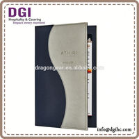 best hotel amenities/ Durable transparent plastic cover/ acrylic menu stand