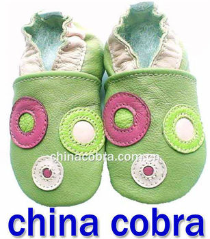 2013 new design free shipping high quality soft sole genuine leather toddler leather shoes