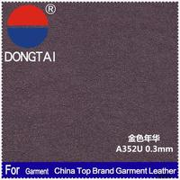 2015 wholesale artificial cow nubuck leather for sofa Factory direct sale