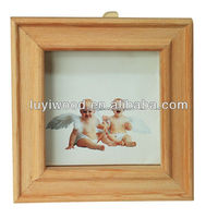 fashionable carving unfinished art minds wooden frame